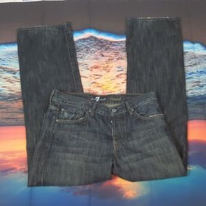 7 for all mankind relaxed jeans size 32